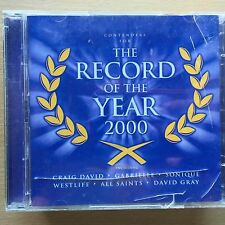 Various Artists - Record of the Year 2000 ~ Rock Pop Compilation Album CD