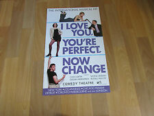 I LOVE YOU, YOU'RE PERFECT, NOW CHANGE Musical Comedy Theatre Poster