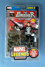 THE PUNISHER WAR ZONE MARVEL LEGENDS COMICS 6 INCH FIGURE SERIES IV 4 TOY BIZ