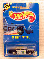 SPEED POINTS SHERIFF PATROL POLICE CAR #59 BLACK WHITE Hot Wheels
