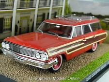FORD COUNTRY SQUIRE JAMES BOND CAR 1/43RD SCALE RED COLOUR EXAMPLE PKD T3412Z(=)