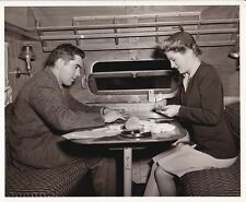TYRONE POWER JOAN FONTAINE Original CANDID Gin Rummy Card Game Set Vintage Photo