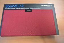 Cache pour enceinte mobile sans fil Bose SoundLink – nylon rouge