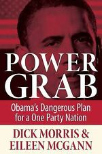 Power Grab: Obama's Dangerous Plan for a One-Party Nation, McGann, Eileen, Morri