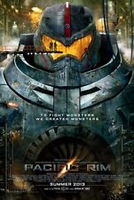 PACIFIC RIM -2013 - orig 27x40 D/S Movie Poster - Reg Style - CHARLIE HUNNAM
