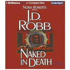 J D Robb NAKED IN DEATH Unabridged CD *NEW* FAST 1st Class Ship!