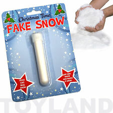 MAGIC FAKE SNOW TOY BOYS GIRLS CHRISTMAS XMAS STOCKING BIRTHDAY PARTY BAG FILLER