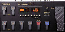 Boss GT-100 GT100 Guitar Amp Effects Processor New