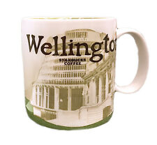 Starbucks Wellington New Zealand Icon mug 16 Oz 2016 Rare