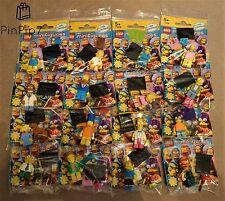 *** LEGO THE SIMPSONS SERIES 2 MINIFIGURES *** COMPLETE SET OF 16 *** 71009 ***