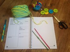 Crochet Project Bible - notebook to record/log/write upto 50 patterns