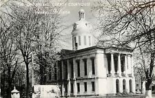 c1950 Real Photo Postcard Switzerland County Courthouse Vevay IN Posted