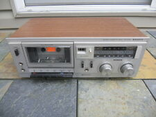 Vintage 1979 Sanyo RD-5008 Cassette Deck, Very Clean, For Parts Or Repair Only