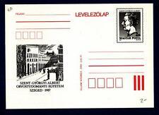 HUNGARY - UNGHERIA - Cart. Post. - 1987 - Per la facoltà di medicina Albert Szen