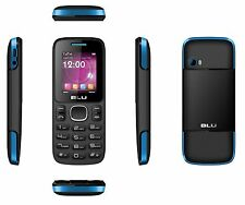 BLU Zoey T176 Black/Blue (Unlocked) Dual-SIM  cell phone Used