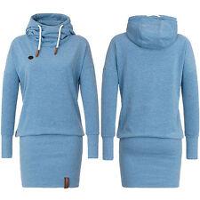 Women Winter Dress LongSleeve Tops Ladies Hoodie Jumper Pockets Sweater Size6-16
