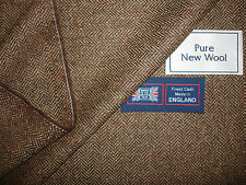 PURE NEW WOOL ENGLISH COUNTRY SPORTING JACKETING FABRIC MADE IN ENGLAND –1.72 m