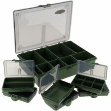 ! NGT Standard Carp Fishing Tackle Box + 6 Bit Boxes