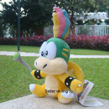 "Super Mario Bros 3 Bowser Koopalings Lemmy Koopa 5.5"" Plush Toy Coddly Soft Doll"