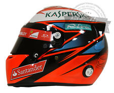 Kimi Raikkonen F1 Formula One Full Scale Replica Helmet Helm Casco Helm NEW