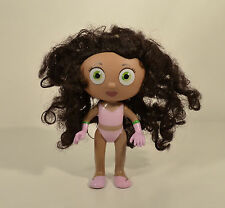 """2009 Princess Pea Presto 6"""" Learning Curve Action Figure Doll Super Why PBS"""
