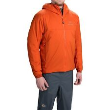 Arc'teryx Atom AR Hooded Jacket Hoody - NWT - Men's Medium (Stellar Orange)