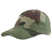Military Army Central European Woodland Camo Camouflage Airsoft Baseball Cap Hat