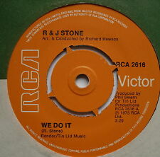 "R & J STONE - We Do It - Excellent Condition 7"" Single RCA 2616"