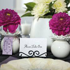 Ornamental Wire Stationery Wedding Place Card Holders Wedding Favors