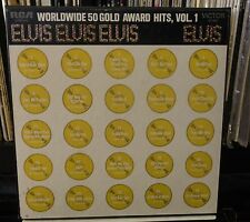 4LP BOX ELVIS PRESLEY Worldwide 50 Gold Award Hits Vol 1 1976 LPM-6401 strong EX