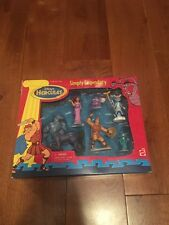 Disney Hercules Simply Legendary Figure Set Mattel New Rare