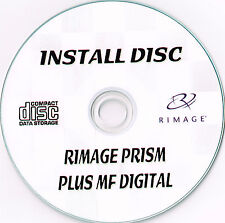 RIMAGE PRISM CD/DVD THERMAL PRINTER OPERATING SOFTWARE DISC INC MF DIGITAL SOFTW