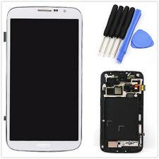 Neuf ÉCRAN LCD+TACTILE+CHÂSSIS POUR SAMSUNG GALAXY MÉGA 6.3 i9200 i9205 BLANC