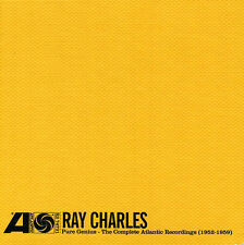 Ray Charles PURE GENIUS BOX SET +80pg Booklet COMPLETE ATLANTIC New Sealed 7 CD