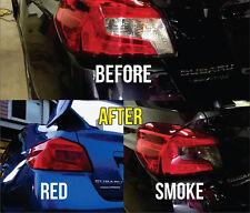 2015 2016 2017 Subaru WRX STi Sedan Overlay Tail light Tint. Red or Smoke Color