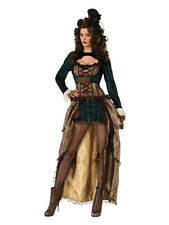 FANCY DRESS Steampunk Madame Full Female Costume