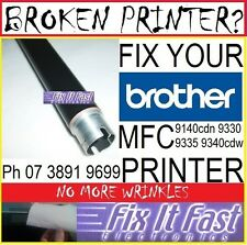 Brother MFC9140 9330 9340 hl3150 Upper fuser Roller to fix Wrinkling Creasing