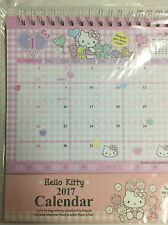 Hello Kitty Table Calender  PINK From Japan