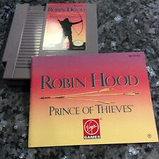 Robin Hood: Prince of Thieves Nes Nintendo With Manual