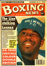 Vintage Boxing News, Dec 24, 93 Christmas double issue & annual Round up, Colour