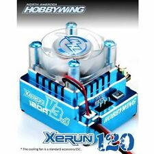 Hobbywing XERUN 120A V3.1 ESC Brushless Speed Control (Blue) : 1/10 , 1/12