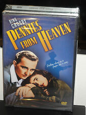 Pennies From Heaven (DVD) Bing Crosby, Madge Evans, Louis Armstrong, BRAND NEW!