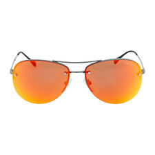 Prada Aviator Brown Mirror Orange Sunglasses 0PS 50RS-5AV5M0-59