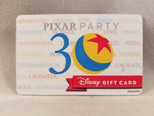 Disney Collectible Gift Card Walt Disney World Pixar Party 30th Anniversary Card