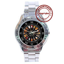 NEW Acoustic Guitars CUSTOM CHROME MEN WRIST WATCH