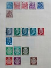 GERMANY D.D.R. 3 Sets of 6 Definitive Stamps **GC MOUNTED**