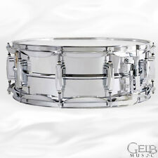 Ludwig 5x14 Chrome Plated Aluminum Snare Drum with Imperial Lugs - LM400