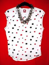 KILLAH MAGLIETTA Rockabilly Polka Dots stelle Bogger Boho Hippy S 34 36 merce nuova! Top