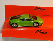 MICRO METAL DIE CAST SCHUCO 3 INCHES 1/64 LAMBORGHINI HURACAN VERTE IN BOX