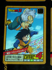 DRAGON BALL Z DBZ SUPER BATTLE POWER LEVEL PART 9 CARD CARTE 371 JAPAN 1994 NM
